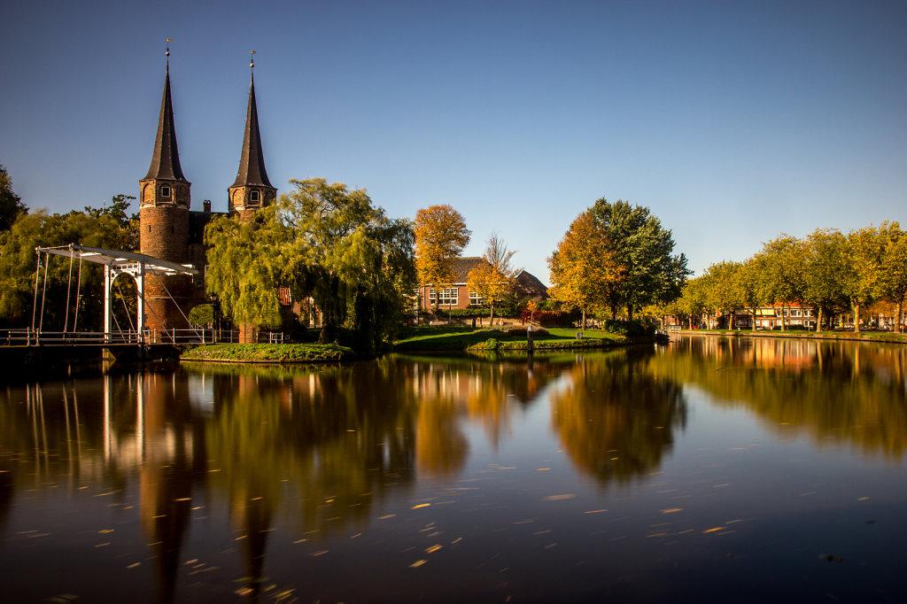 East Gate of Delft, Netherlands