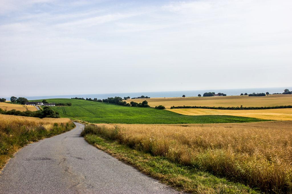 Fields on Møn, Denmark
